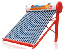 太阳能热水器工作原理 绝对节能环保