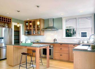 厨房装修费怎么省下来  省是一种学问
