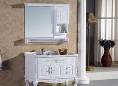 欧式浴室柜选购技巧介绍 卫浴也要这么美
