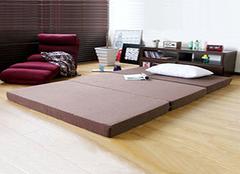 榻榻米床垫选购方法详解 选对床垫很重要