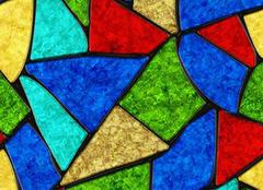 彩色玻璃纸怎么装饰 彩色玻璃效果有哪些