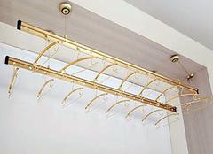 升降晾衣架安装方法 阳台衣架升降安装步骤