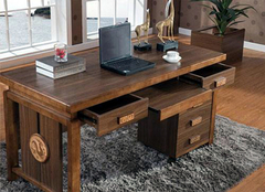 怎么买实木书桌  实木书桌选购技巧