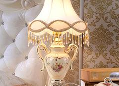 欧式床头灯挑选 如何选购床头灯