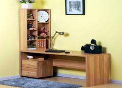 双人书桌书柜怎么买 双人书桌书柜组合