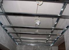 轻钢龙骨吊顶的施工方法 具体方案怎样