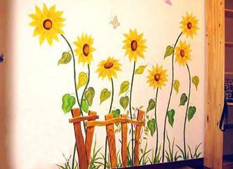 手绘墙画用什么颜料 选对材料才更出彩