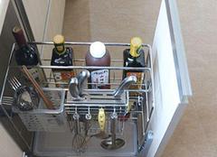 橱柜拉篮的价格与安装步骤 厨房收纳好帮手!