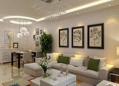 家居软装沙发背景墙的搭配原则 后期配饰必看内容
