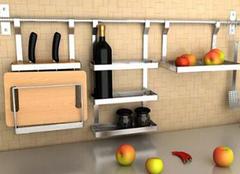 厨房储物架安装注意内容 三个注意点