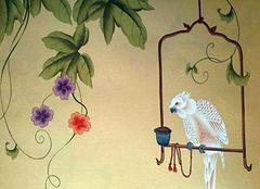 手繪墻紙材料都有哪些 打造不一般的美