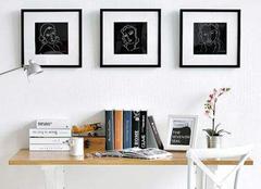 书房装饰画有哪些注意点  书房装饰画应该怎样选