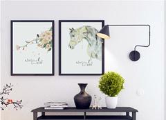 墙上手绘装饰画有哪些注意点  室内手绘装饰画