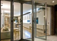 铝合金折叠门的特点有什么 如何选购呢