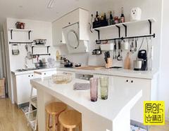 小户型餐厅装修设计三步走 这样厨房才显大