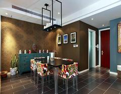 餐厅混搭装修风格设计效果 温馨浪漫上档次
