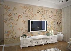 客厅墙纸手绘怎么制作 让客厅墙面独一无二
