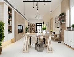 新古典装修样板房设计效果 轻装又豪华