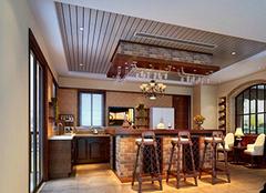 客厅吧台设计方案 提高生活情调