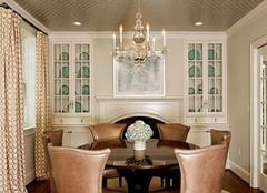 美式风格餐厅吊顶如何装修 根据特性来装才可靠