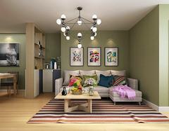 家装60平米房子设计效果图 缔造万种风情家