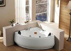 扇形浴缸的尺寸介绍 扇形浴缸的优缺点