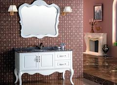 实木浴室柜厂家介绍 好质量就得会选