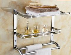浴室置物架都有哪几种材质 哪种最常见