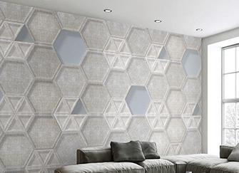客厅马赛克玻璃电视墙有哪些装饰优点
