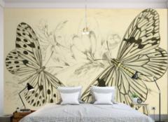 无锡墙纸批发市场在哪 无锡手绘墙纸厂推荐