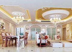 欧式客厅吊顶造型汇总 总有你喜欢的类型