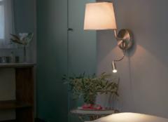 床头装壁灯好不好 床头壁灯能装一个吗