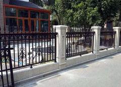 铁艺围墙的施工介绍 了解不同的艺术价值