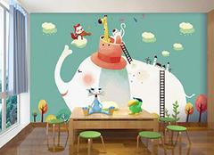儿童房背景墙设计知识 童真空间轻松造