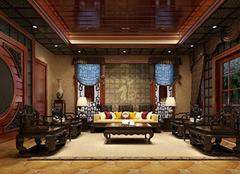 中式风格别墅装修知识简析 低调内敛不是滑轨华贵