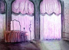 客厅阳台窗帘选购事项 尺寸多少