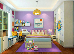 定制儿童衣柜的注意内容 充满童趣的收纳空间