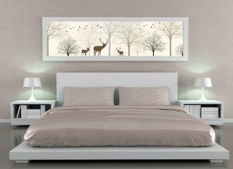 卧室床头不能挂什么画 卧室床头挂画风水禁忌详解