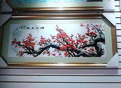 什么图案的十字绣寓意好 客厅十字绣花开富贵
