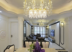 客厅水晶灯风格种类有哪些 绚丽多彩