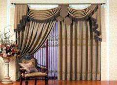 伊莎莱窗帘选购要注意什么   家居窗帘选购