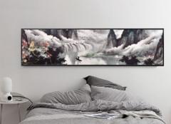 卧室床头挂山水画好吗 床头挂山水画好不好呢