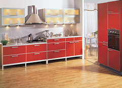 厨房橱柜什么颜色吉利 红色橱柜好看吗
