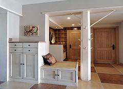 门口放鞋柜影响风水吗 进门是客厅鞋柜怎么放