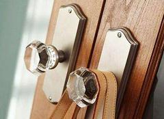 防盗门把手材质种类介绍 为家中挑一个好产品
