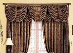 卷帘式窗帘配件介绍 拉窗帘新体验