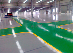 刷地坪漆多少钱一平方 环氧地坪漆施工步骤