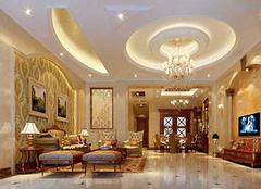 欧式别墅装修设计的注意事项 美化我们的居室