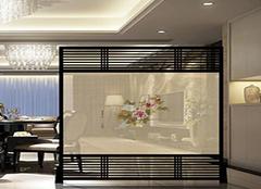 不同新中式屏风的介绍 给家居一丝朦胧美
