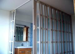 卫生间折叠门怎么安装 卫生间折叠门怎样拆